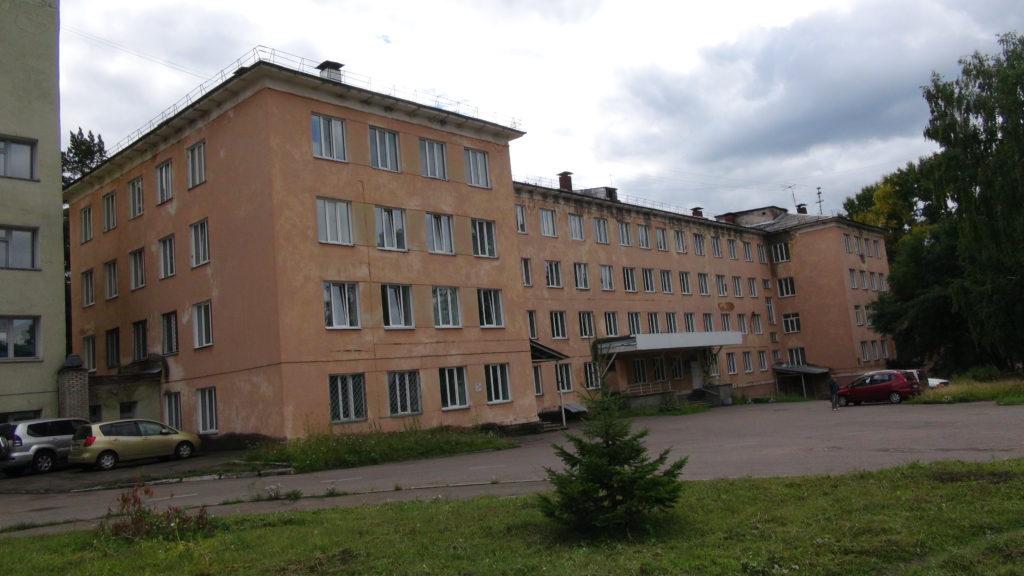 Здание по ул. Павлова 5, бывший роддом. Хозяйственное ведение Клинической больницы №51. Минимальный ремонт.