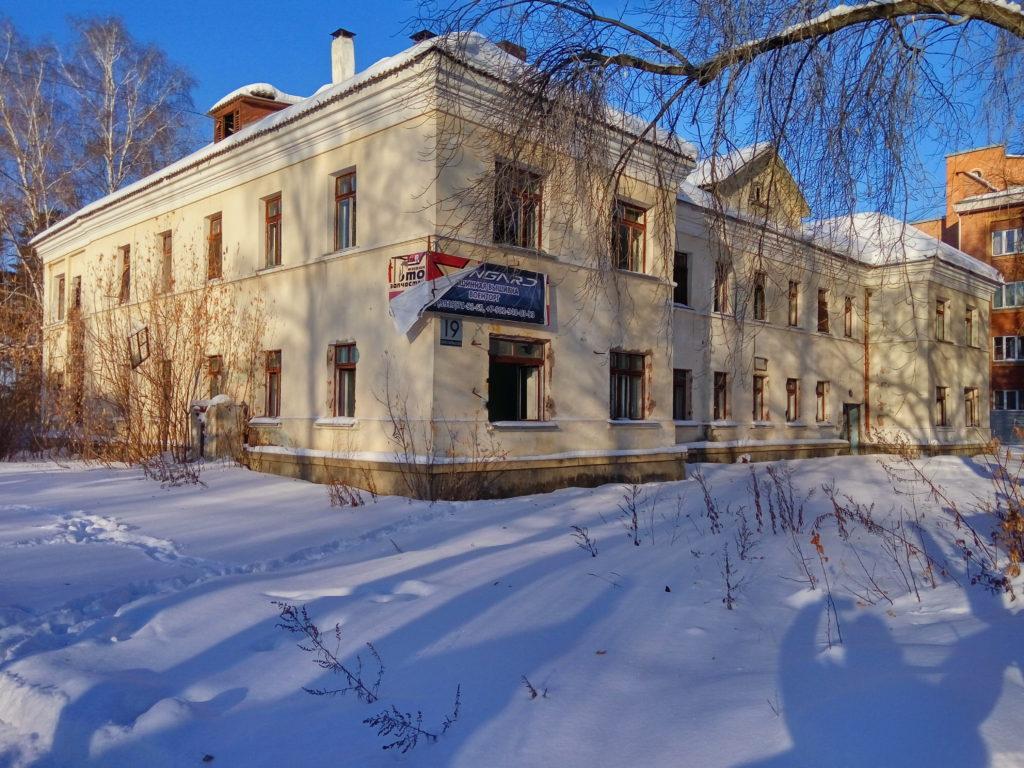 Заброшенное здание детского сада. Комсомольская 19.