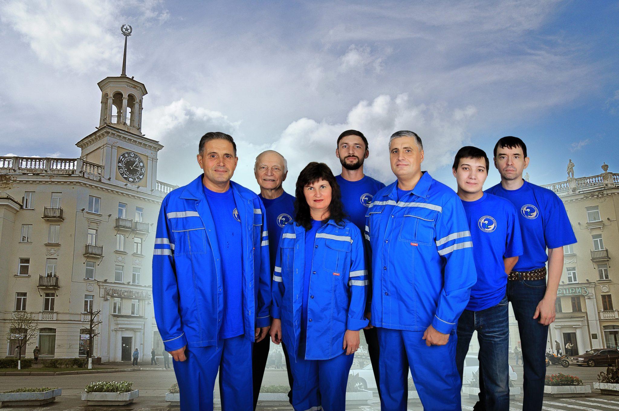 Команда по проекту