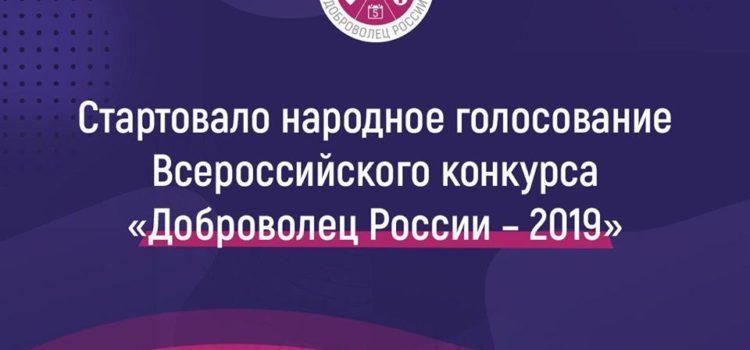«Доброволец России»: поддержите голосованием!