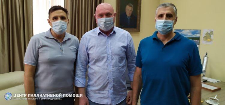 ИЗ ПЕРВЫХ РУК: Госдума берет на контроль ситуацию в    Железногорском хосписе