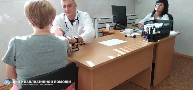 Первый кабинет паллиативной помощи в Железногорске